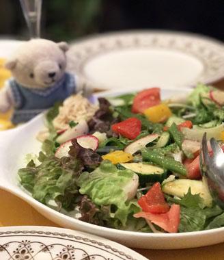 美味しいサラダ