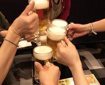 冷たいビールはうまい!